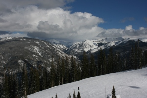 Looking east towards Independence Pass