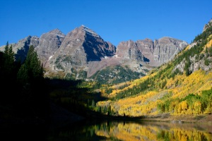 Morning at the Maroon Bells, 9/26/15
