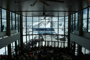 View from the Summit at Snowbird, not a bad place to have lunch.